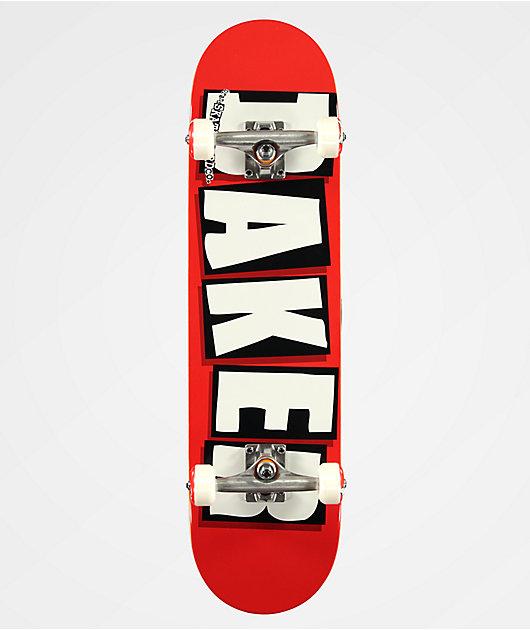 Baker Brand Logo Red 8.0