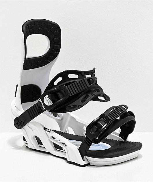 Bent Metal Joint White Snowboard Bindings 2020