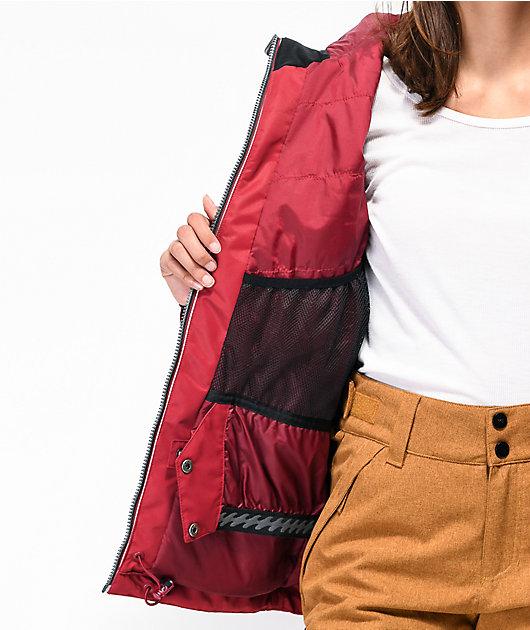 Billabong Sula Cardinal 10K chaqueta de snowboard