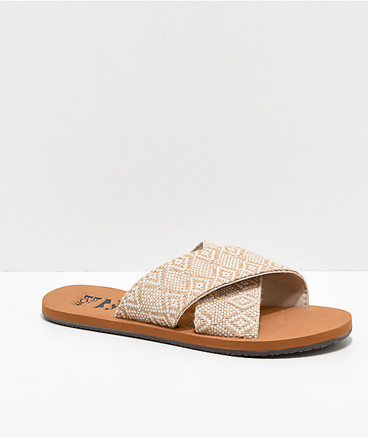 Billabong Surf Bandit Brown Sandals