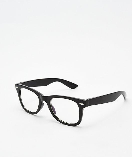 Black & Clear Blue Light Glasses