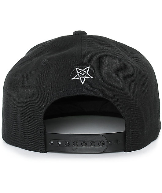 Black Scale Traditional Logo Snapback Hat