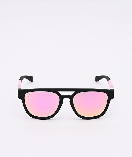 Blenders Addison Soaring Rosa Black & Pink Polarized Sunglasses