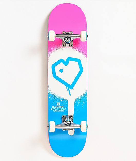 Blueprint Spray Heart 7.75