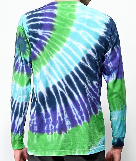 Bobby Tarantino by Logic Indica Badu Tie Dye Long Sleeve T-Shirt