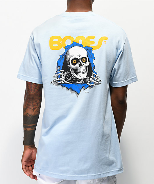 Bones Ripper Baby Blue T-Shirt