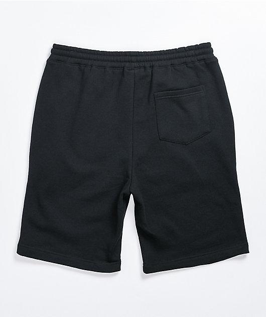 Boss Dog Get Busy Black Sweat Shorts
