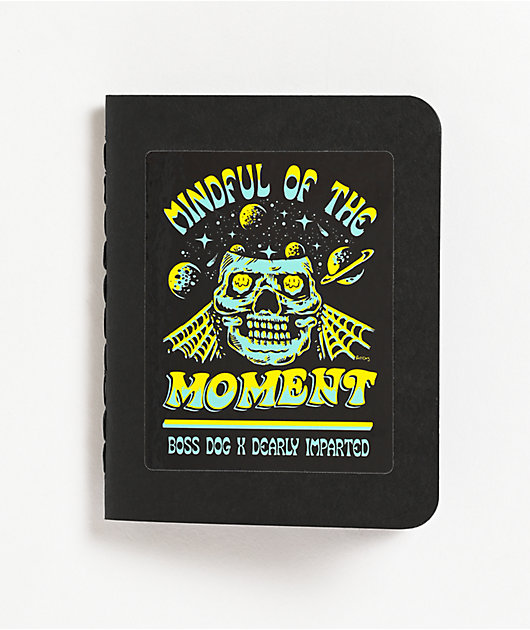 Boss Dog x Dearly Imparted Mindful Black Notebook