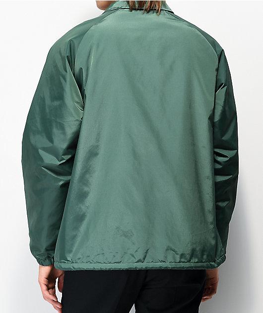 Brixton Claxton chaqueta entrenador de sherpa verde