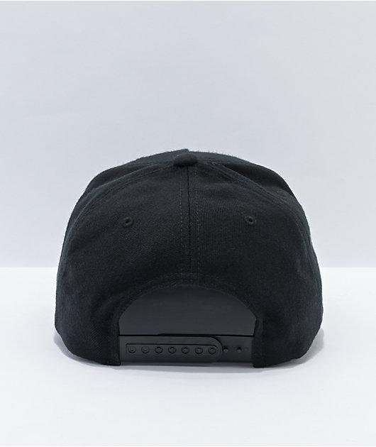 Brixton Crest MP Black Snapback Hat