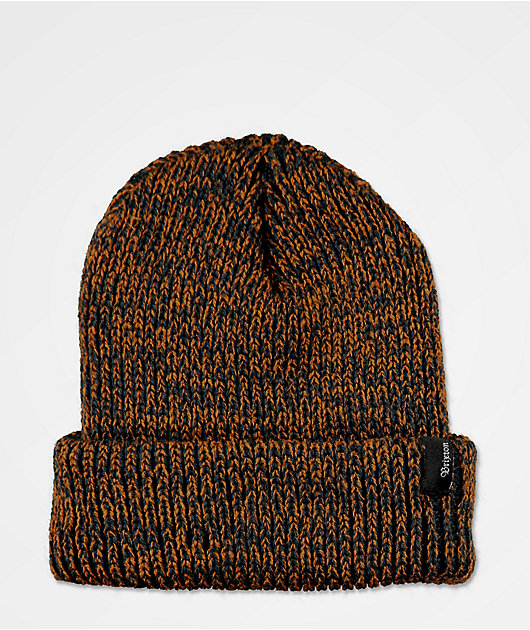 Brixton Filter Washed gorro azul marino y color cobre