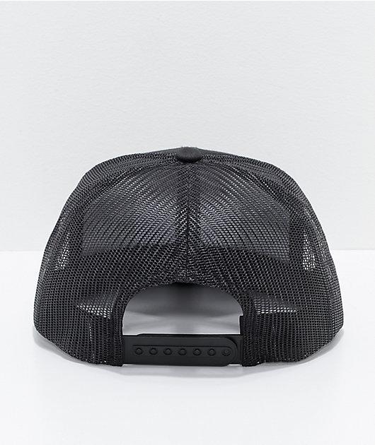 Brixton Jolt Black Trucker Hat