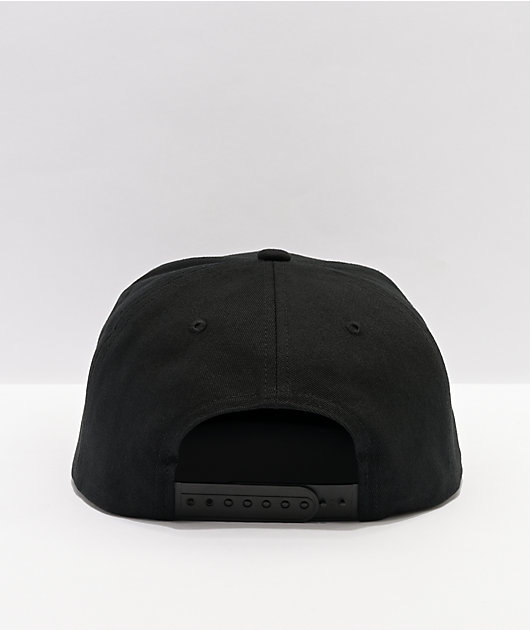 Brixton Oath III Black & Navy Tie Dye Logo Snapback Hat