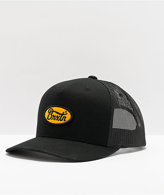 Brixton Parsons MP Black Trucker Hat