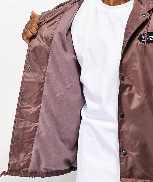 Brixton Parsons Mauve Pink Windbreaker Jacket