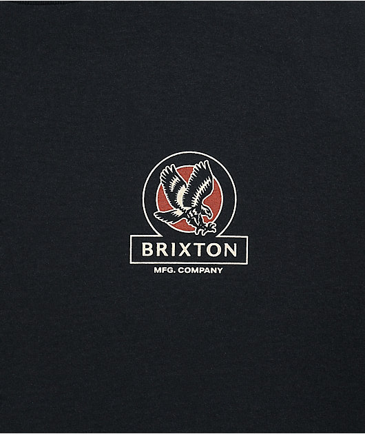 Brixton Reach Black T-Shirt