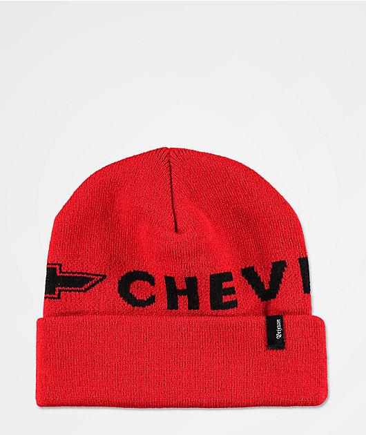 Brixton x Chevy Icon Nova Red Beanie