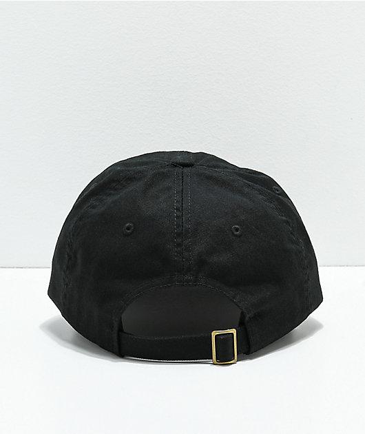 Brixton x Coors Filtered Black Strapback Hat