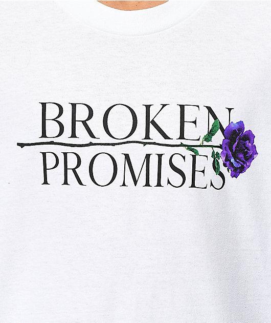 Broken Promises Blossom White T-Shirt