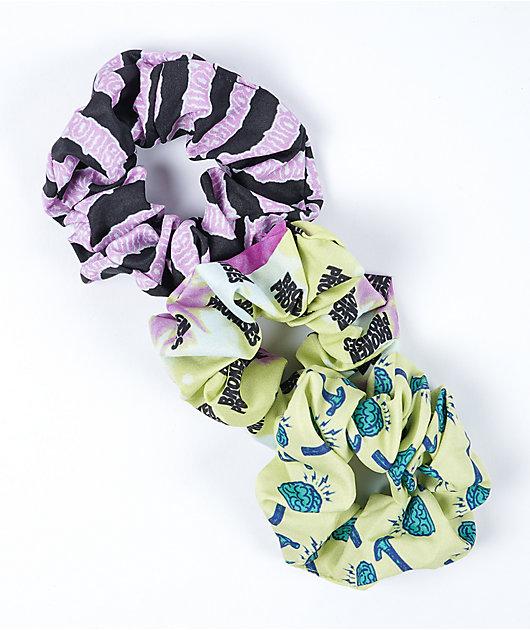 Broken Promises Cerebral 3 Pack Scrunchies