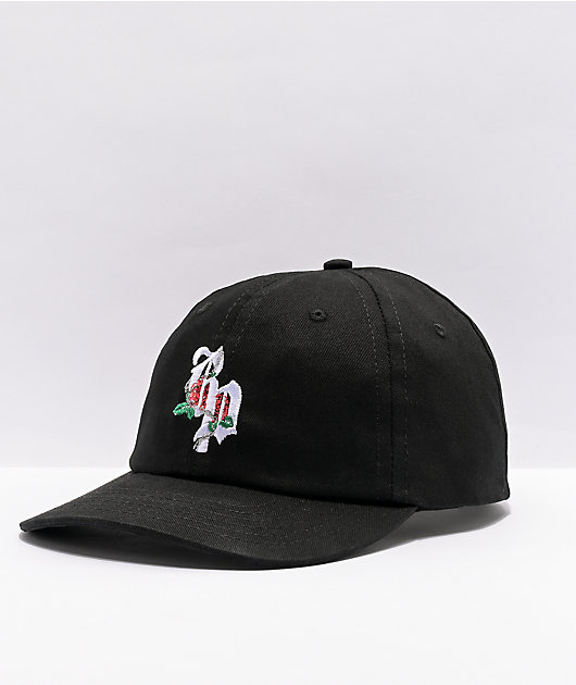 Broken Promises Cuffin Season Black Strapback Hat