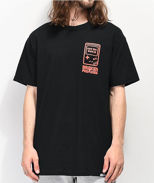 Broken Promises Don't Play Games camiseta negra