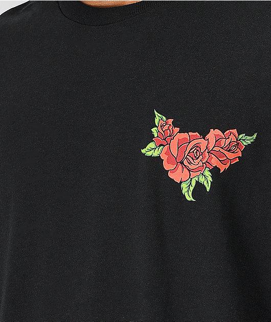 Broken Promises Forever Kanji Black Long Sleeve T-Shirt