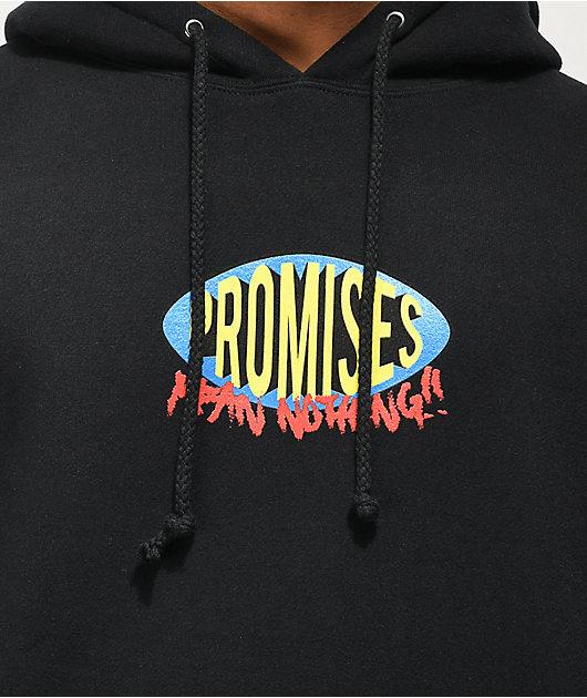 Broken Promises Karma Black Hoodie