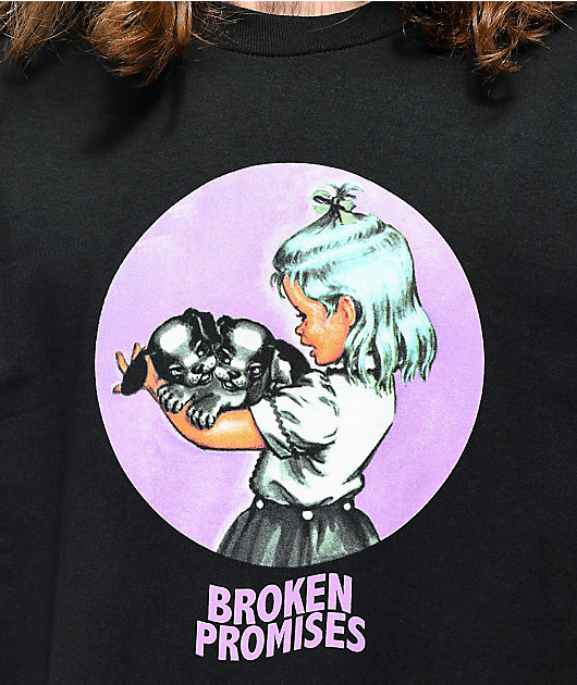 Broken Promises Metamorphosis Black T-Shirt