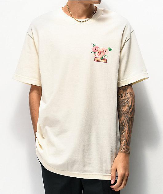 Broken Promises No Ka Mea camiseta de color crema