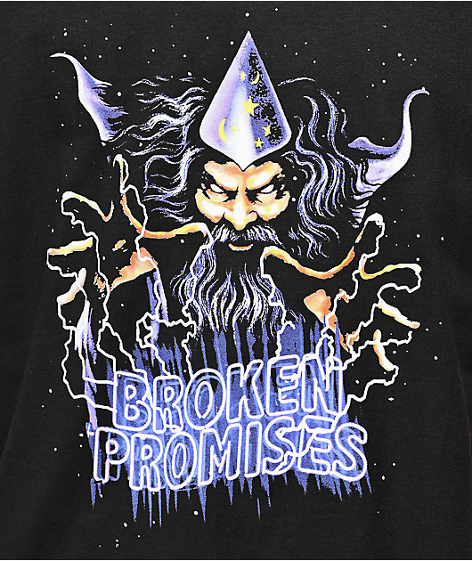 Broken Promises Prophecy camiseta negra