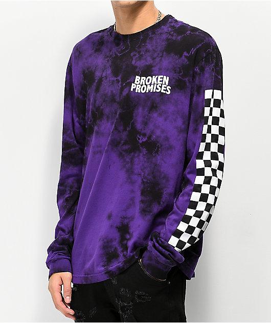 Broken Promises Purple Punch Tie Dye Long Sleeve T-Shirt