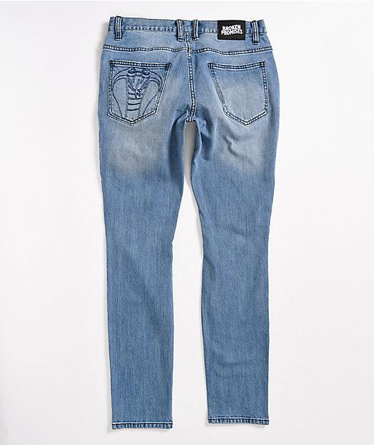 Broken Promises Stitch & Rip Denim Jeans