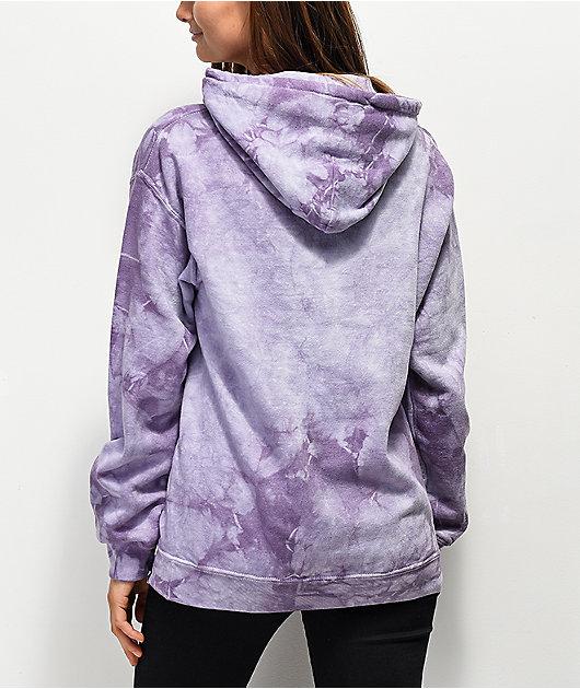 Broken Promises Thornless Purple Hoodie