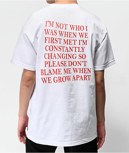 Broken Promises Transformation White T-Shirt
