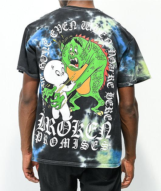 Broken Promises x Casper You're Gone Tie Dye T-Shirt