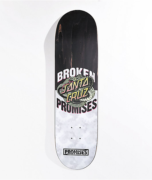 Broken Promises x Santa Cruz Slither 8.5