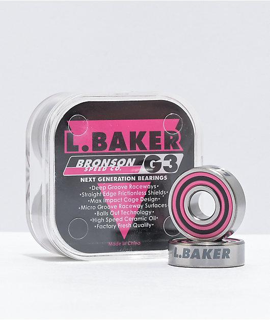 Baker Pro G3 Skateboard Bearings L Bronson Speed Co