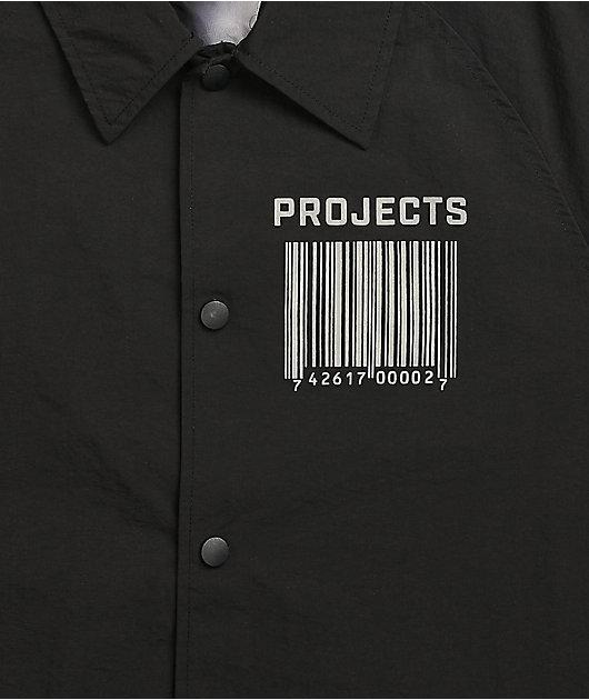 Brooklyn Projects x Slipknot Faces Black Coaches Jacket