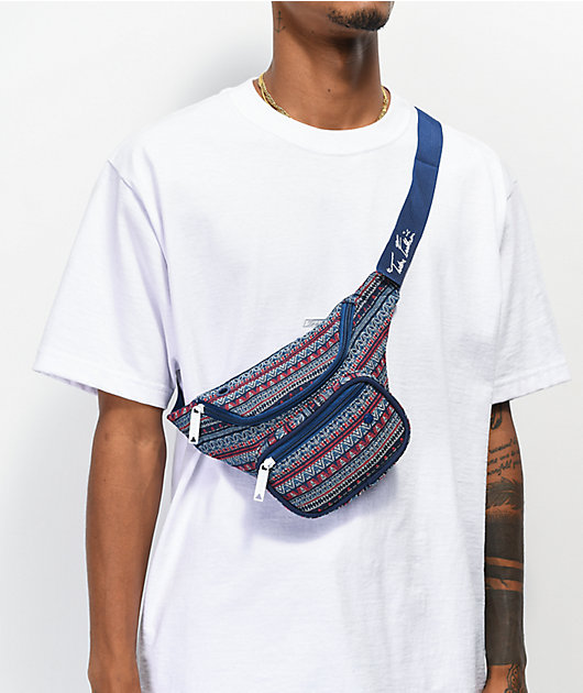 Bumbag T-Funk Deluxe Navy & Red Fanny Pack