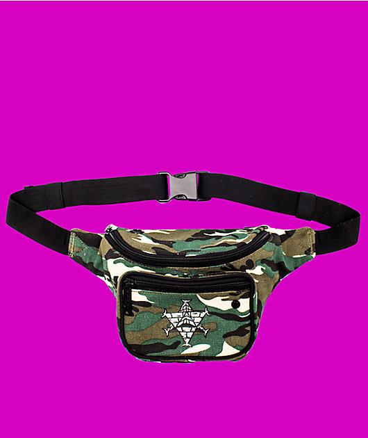 Bumbag x  Pyramid Country Deluxe Camo Fanny Pack
