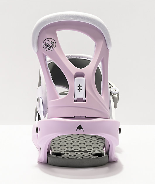 Burton Citizen Lavender Snowboard Bindings Women's 2021