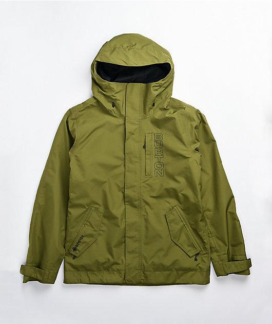 Burton Doppler Olive Gore-Tex Snowboard Jacket