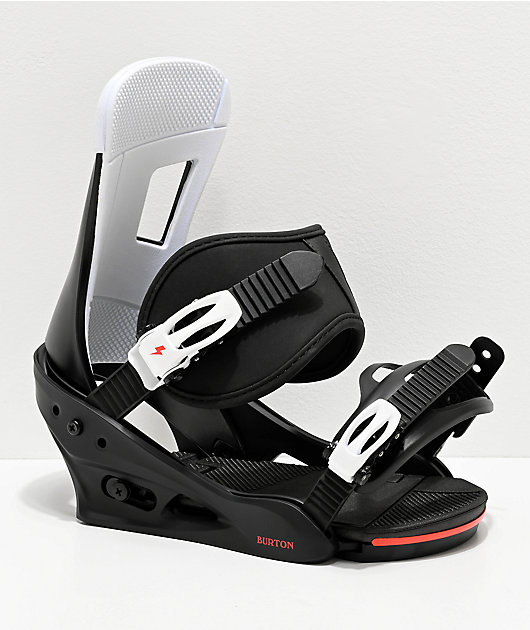 Burton Freestyle Black Snowboard Bindings 2020
