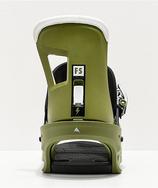 Burton Freestyle Green Snowboard Bindings 2020