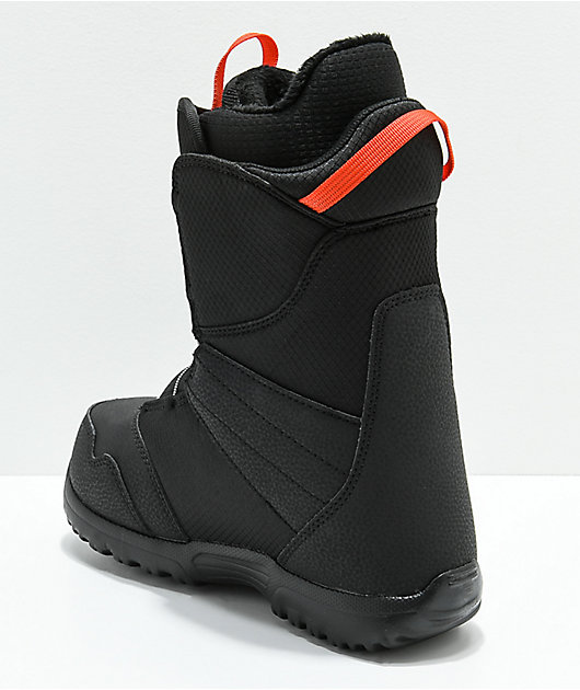 Details about  /Burton Zipline Boa Snowboard Boots Youth Kid/'s Black US 5 EU 36.5