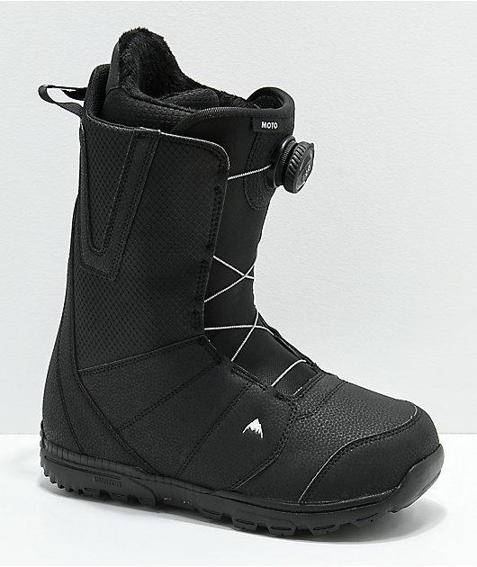 Burton Moto Boa Black Snowboard Boots 2019
