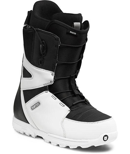 Arthur Conan Doyle Estereotipo Mercurio  Burton Moto White & Black Snowboard Boots | Zumiez