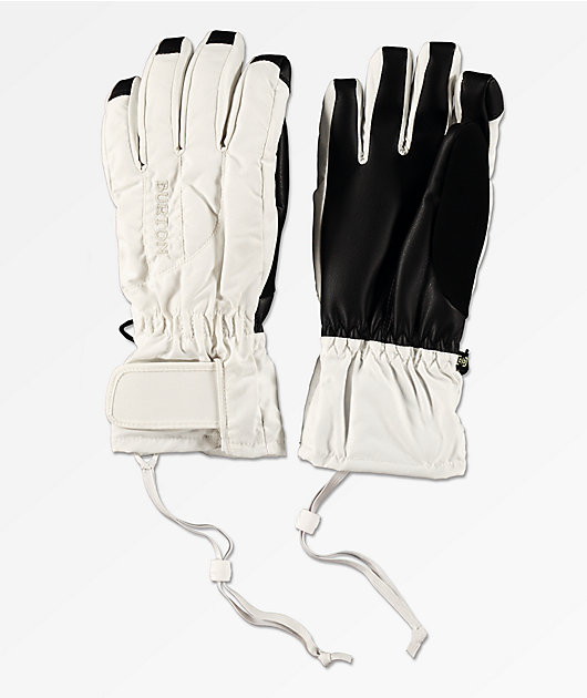 Burton Profile Under Glove White Snowboard Gloves