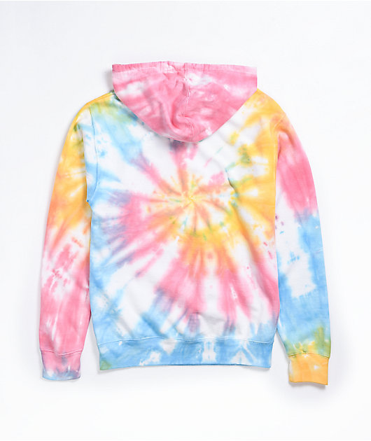 By Samii Ryan All I Want Multicolor Tie Dye Hoodie